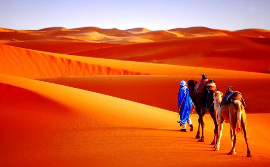 Tour from Marrakech to Fez via the Sahara desert / 4 days / 3 nights