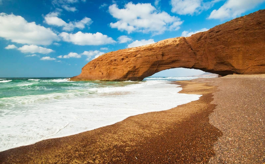 Tour from Marrakech to beach of Legzira Rock Archway 5 days / 4 nights
