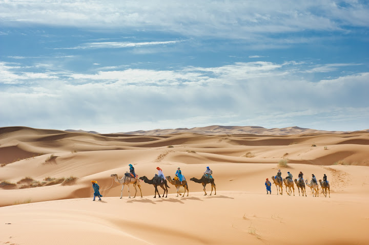 Tour from Marrakech to the Desert via Todrha gorges  6 days / 5 nights