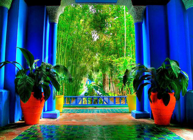 The Majorelle Gardens, Menara, Bahia palace and Palmeraei