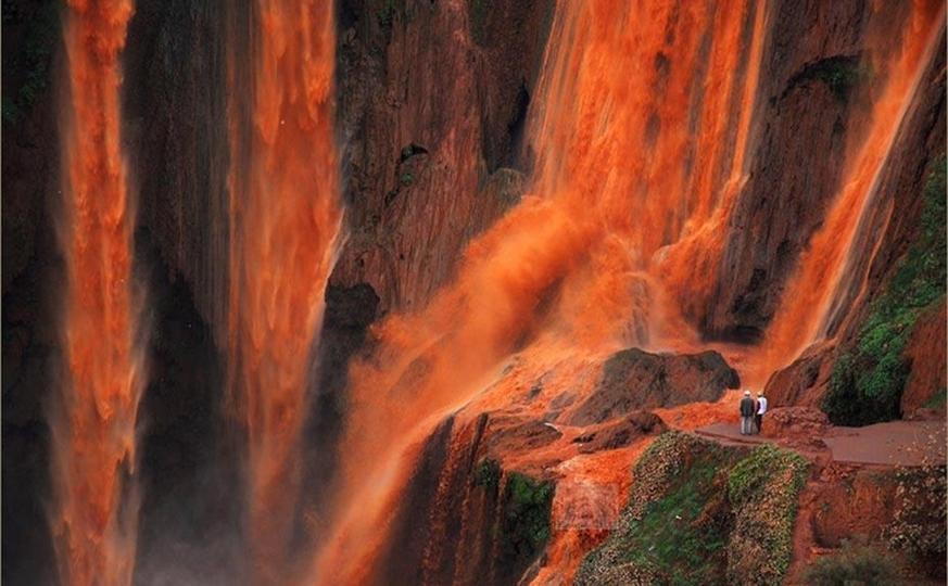 Family trip Morocco via waterfalls  8 days / 7 nights