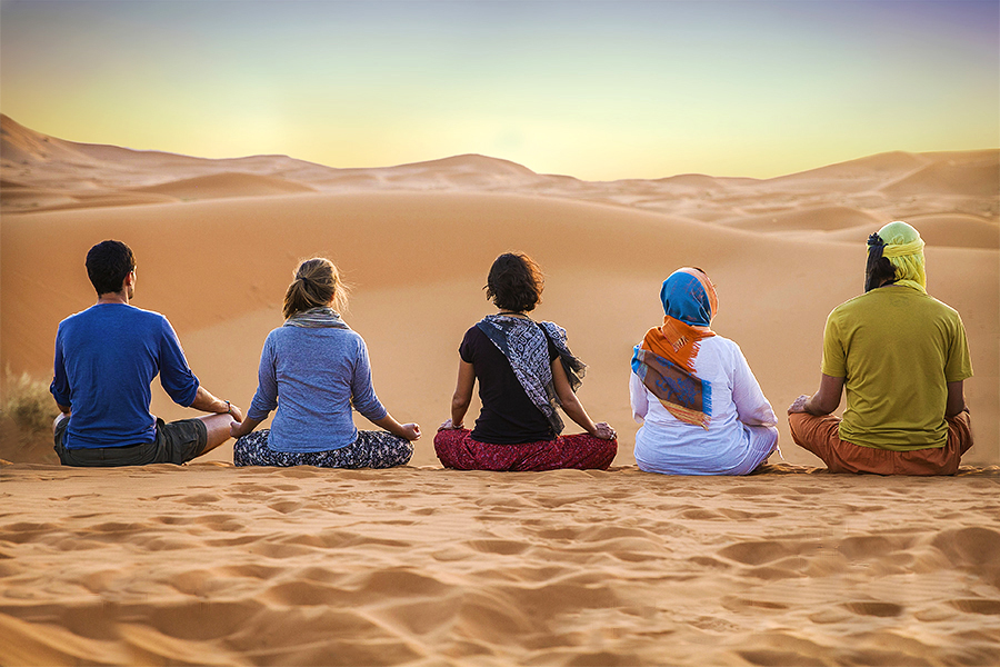 Yoga Retreat and meditation in the Sahara desert 7 days / 6 nights