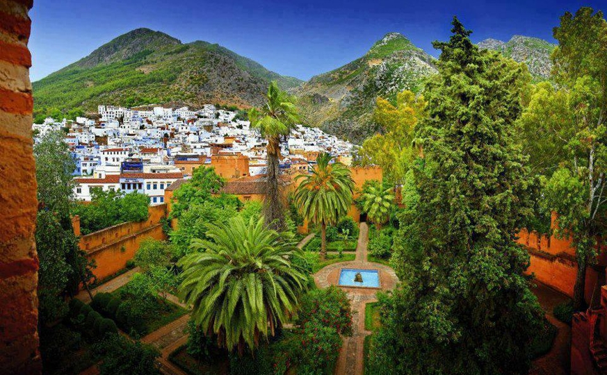 Tour to Chefchaouen, Imperial Cities and Desert  8 days / 7 nights